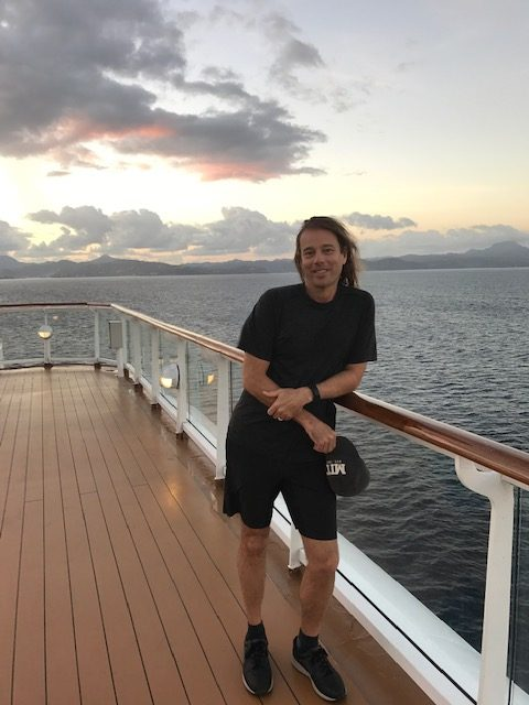 Dr. Group on a cruise